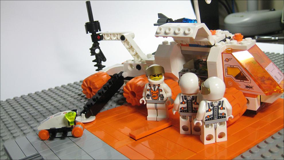 LEGO mars mission